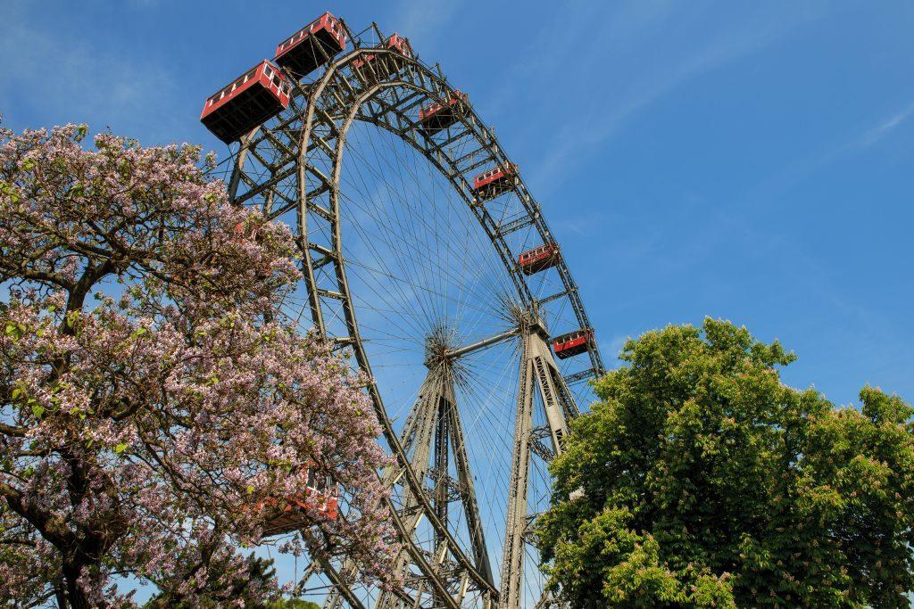 Giant Ferries Wheel at Prater in Vienna